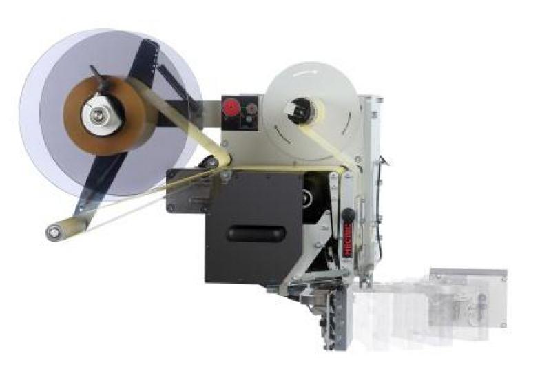 MECTEC FS100 & FS150 – решение для нанесения этикетки спереди и сбоку